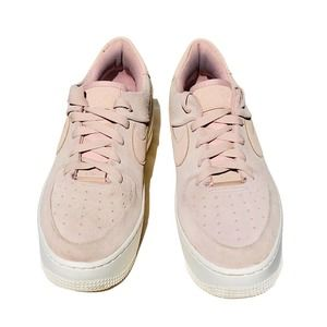 Nike AF1 Air Force 1 Sage Women 8.5 Shoe Pink